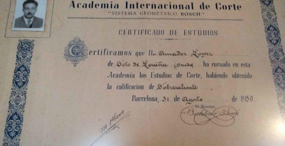 diploma amador